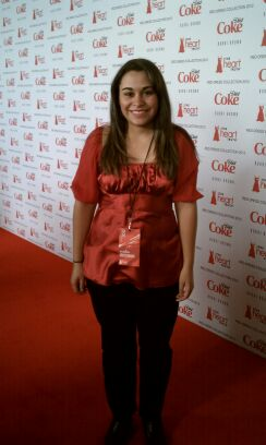 Kristen Maldonado at the 2012 Red Dress Collection Fashion Show during Fashion Week