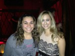 Kristen Maldonado with country singer Risa Binder at Rockwood Music Hall