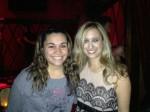 Kristen Maldonado & country singer Risa Binder at Rockwood Music Hall