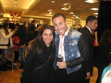 Kristen Maldonado & Micah Jesse at Betsey Johnson's #BetseyHeartsMacys event at Macy's