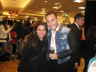 Kristen Maldonado & Micah Jesse at Betsey Johnson's #BetseyHeartsMacys event at Macy's