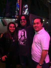Kristen Maldonado & comedian Martin Moreno at Radio City Music Hall