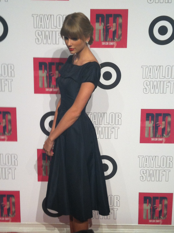 Taylor Swift at Target's Red Release Party