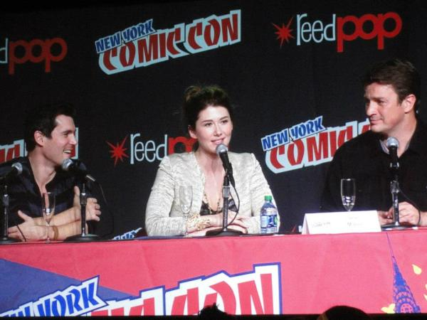 Firefly panel at New York Comic Con 2012