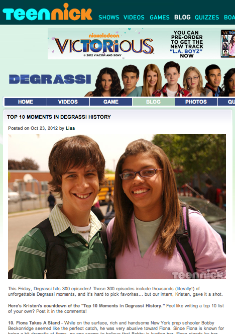 Top 10 Moments in 'Degrassi' History