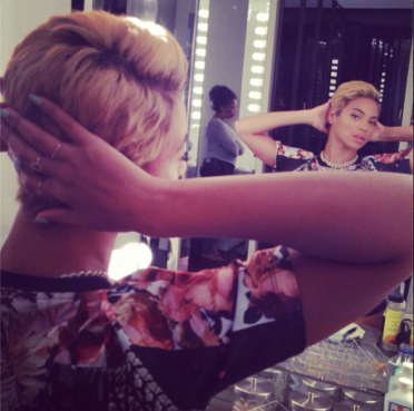 Beyonce Debuts New 'Do
