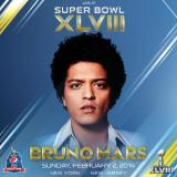 [UPDATE] Bruno Mars Confirmed As 2014 Super Bowl Halftime Show Performer