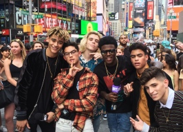 PRETTYMUCH and DC Young Fly on MTV's Summer in the City