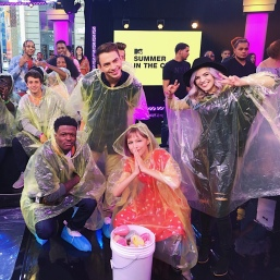 Grace VanderWaal with DC Young Fly and Erik Zachary on MTV's Summer in the City