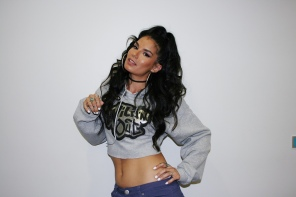"""Natalia from the """"So You Wanna Wild Out?"""" competition on MTV's Wild 'N Out Live"""