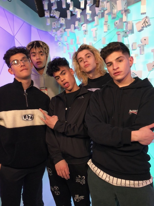 PRETTYMUCH on MTV's TRL