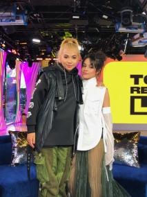 Hayley Kiyoko and Camila Cabello on MTV's TRL