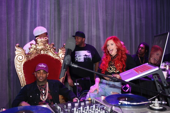 Conceited and Justina Valentine on MTV's Wild 'N Out Live