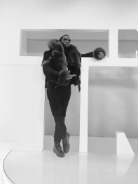 Diddy during his 39th appearance on MTV's TRL