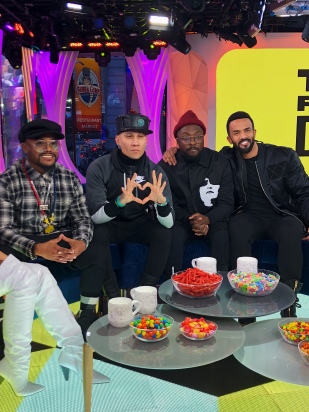The Black Eyed Peas and Craig David on MTV's TRL