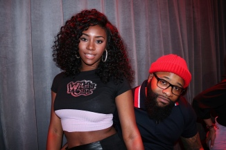 Chico Bean and a Wild 'N Out girl on MTV's Wild 'N Out Live