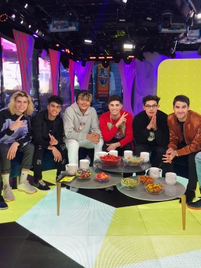 PRETTYMUCH and Darren Criss on MTV's TRL