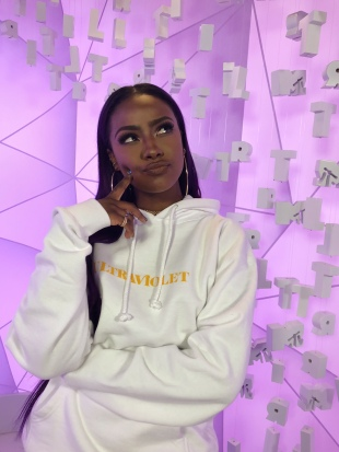 Justine Skye on MTV's TRL