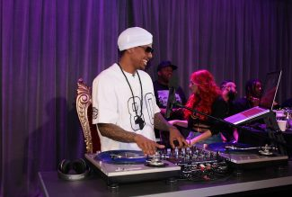 Nick Cannon on MTV's Wild 'N Out Live